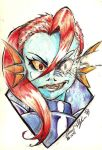 [Undertale] Undyne The Undying by SteveShadow
