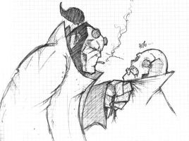 Hellboy sketch by terencedeath