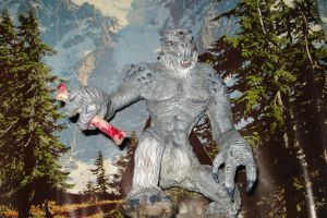 FROST TROLL skyrim full picture- with background by smeagolisme