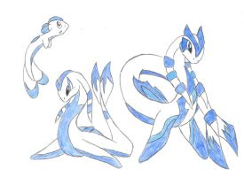 Water starter set by Saronicle