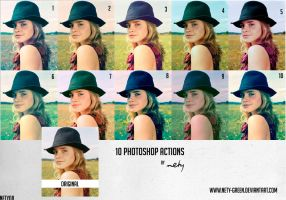 10 PS actions by nety-green