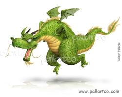 Dragon Neron by caricatura3d