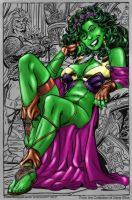 she-hulk by turrul2000