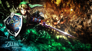 The legend Of Zelda Wallpaper by Junleashed