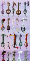 Too Many Keyblades by SMachajewski