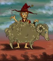 Rincewind the shearer by StormBay