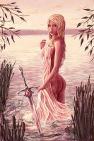 Lady Of The Lake by solartistic