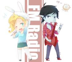 Fiona n Marshall Lee by carineyy