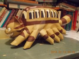 Catbus Papercraft by DraikenTalkos