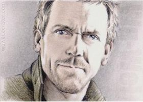 Hugh Laurie mini portrait by whu-wei