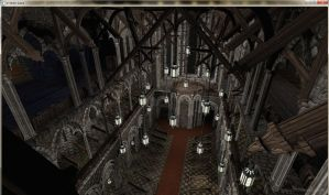 Cathedral rafters by David-the-Cenobite