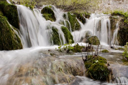 Swiftly Running Water by AarupPhotography