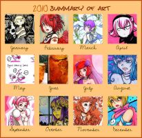 2010 Art Summery by tea-bug