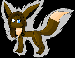 real me as eevee by LunaEclipsa