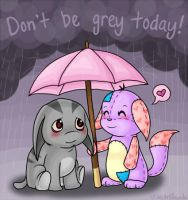 don't be grey today by TECHN0panda