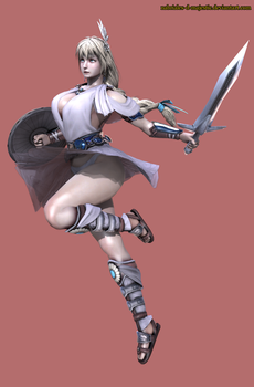Sophitia Alexandra by Nabriales-D-Majestic