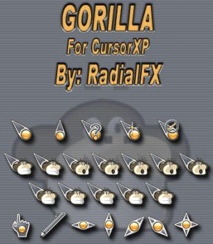 Gorilla by rautry