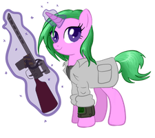 Fallout Equestria - Mad Bomber v4 by InfernalDalek