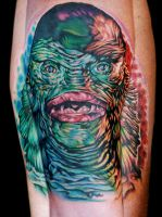 creature from black lagoon by tat2istcecil