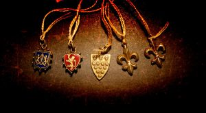 Antique French Charms by turnerstokens