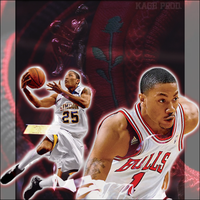 Derrick Rose: Born From Thorns by kagegao
