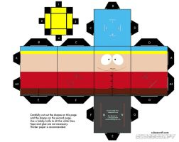 Cubee SOUTH PARK Eric Cartman1 by njr75003