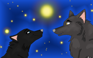 Yami and shadow by QueenYami