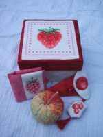 Fruity sewing kit by Magical525