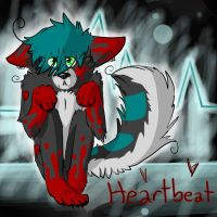 Heartbeat, gift/fan art for Technic-Wolf by Astrick-maple