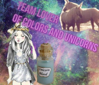 Icon TEAM LOVERS OF COLORS AND UNICORNS. by Oriianithaa1Editions