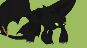 Toothless ish angry by Ume-Intoxication