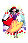 SNOW WHITE by blueDREAM-SH