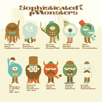 Sophisticated Monsters by j3concepts