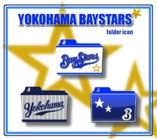 Yokohama BayStars Folder Icon by kyoro3