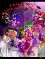 2011 Sonic Halloween by Shadonialuver