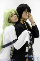 CC and Lelouch - Code geass by amykino