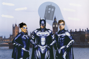 Doctor Who as Batman by doctorwhofan1984
