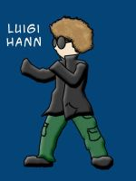 LuigiHann - Fighting Stance by luigihann