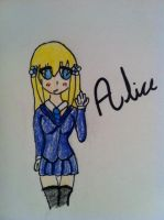Request for Cierrakahana ''Alice'' by The-fandom-alchemist