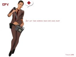 team fortress 2 spy by iFrau