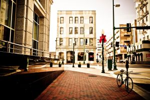 Downtown Norfolk - Vintage by MariaWillhelm