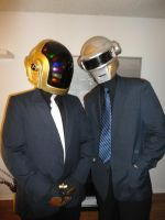 Daft Punk Costumes by pwt123