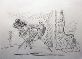 choreographic sketch by creapicform