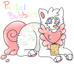 Pastel Bubbles by InkQueenPilus