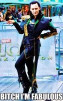 Loki is Fabulous by HailTheRedQueen