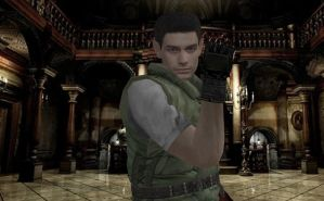 Resident Evil Chris by deangagaTR
