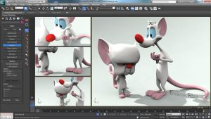 3D Pinky and Brain! by iemersonrosa
