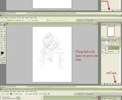 """new"" Quick Lineart Tutorial by Cannira"