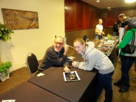 Picture with Robert Englund by Deadlydollies13