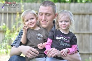 My Brother and his kids by KrazyKcPhotography